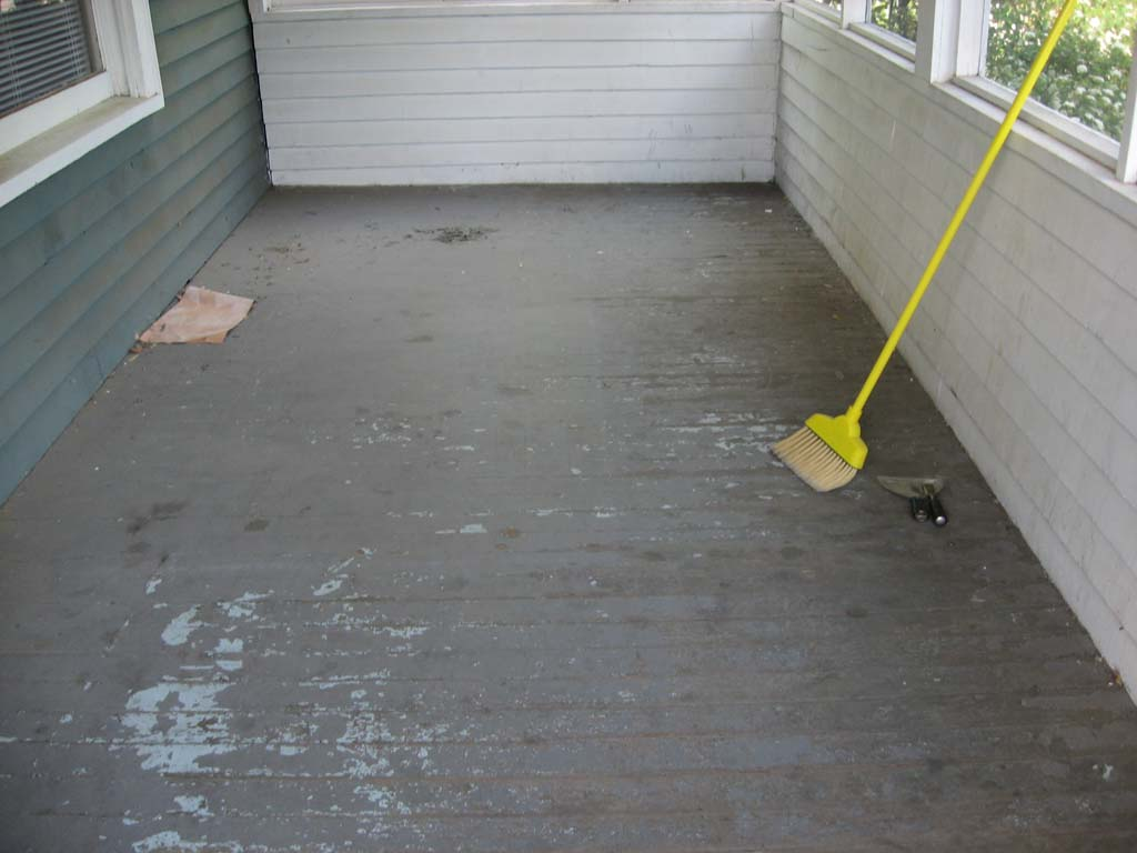 Interior repairs the house strikes back for Porch flooring